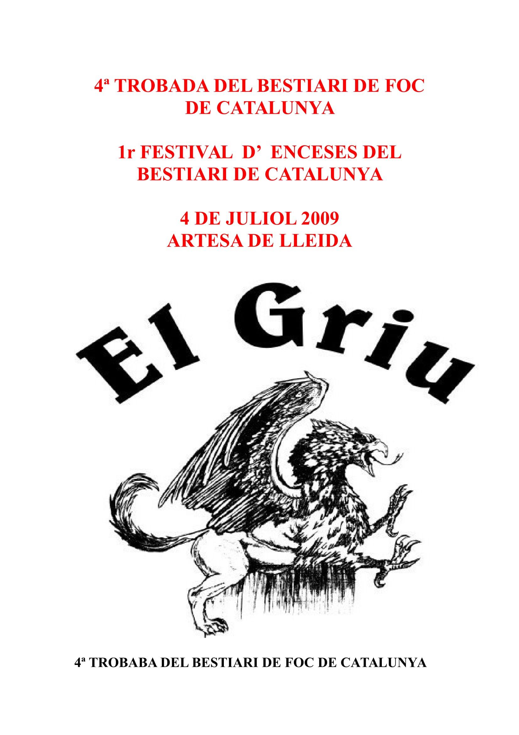 2009 CARTELL FESTIVAL enceses