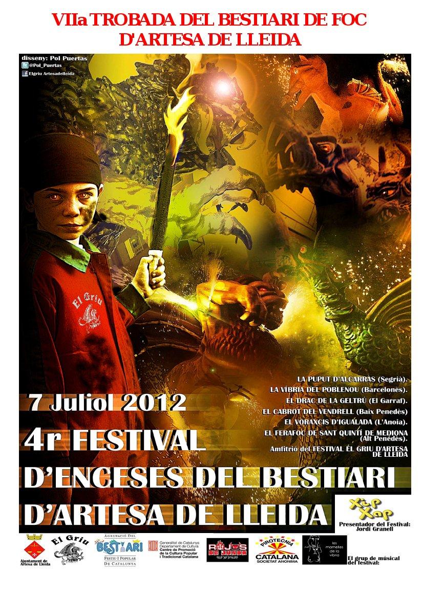 2012 4t Festival d'Enceses