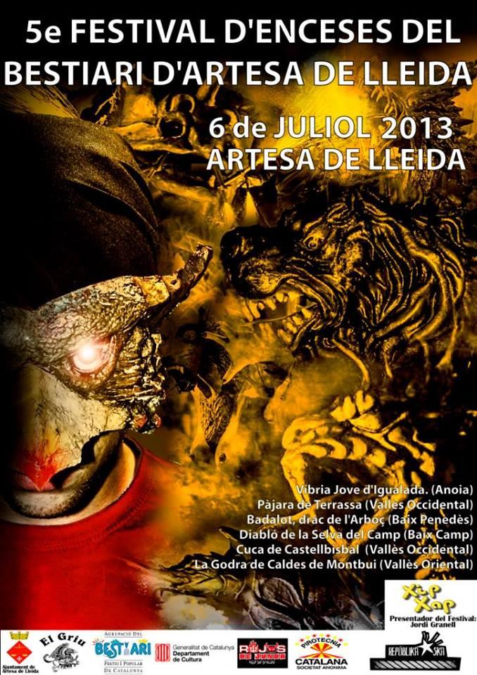 2013 cartell Festival Enceses